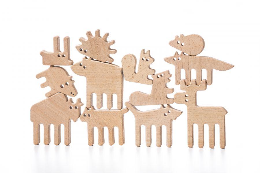Forest animals Balance-toy